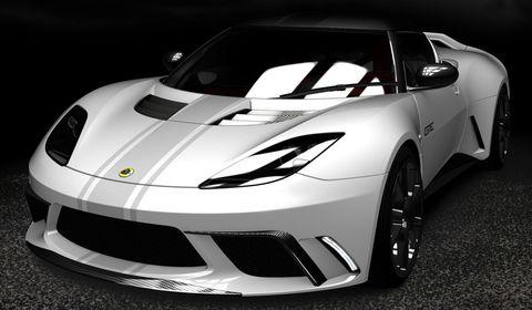 Lotus-evora-gte-3 in Lotus stellt mit dem Evora GTE einen Rennwagen vor