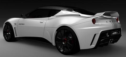 Lotus-evora-gte-4 in Lotus stellt mit dem Evora GTE einen Rennwagen vor