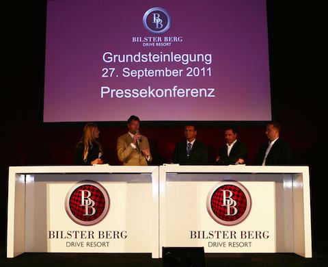 Bilster-Berg Grundsteinlegung in Grundstein für Bilster Berg Drive Resort gelegt