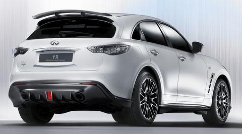 Infiniti-fx-sebastian-vettel-concept-car in Neue Bilder des Infiniti FX Concept Cars von Sebastian Vettel