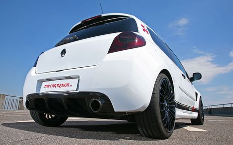 Renault-clio-rs-3 in Renault Clio RS von MR Car Design