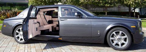 Rolls-royce-phantom in Rolls-Royce gibt Gas