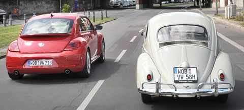 Vw-beetle-e in Impressionen: VW Beetle
