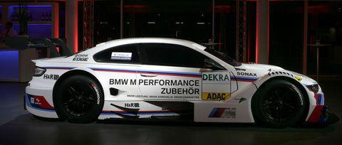 BMW-M3-DTM-3 in BMW M3 für die DTM 2012