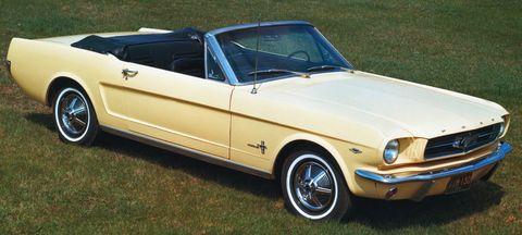 Ford-Mustang-Cabrio-1965 in Ford lässt das 1965er Mustang Cabrio auferstehen