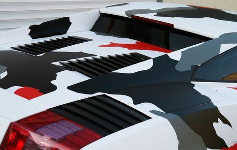 Lamborghini-Gallardo-Koi-Camouflage-5 in Lamborghini Gallardo im Koi Camouflage-Look