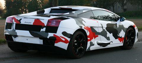 Lamborghini-Gallardo-Koi-Camouflage-9 in Lamborghini Gallardo im Koi Camouflage-Look