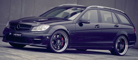 Mercedes-Benz-C-63-T-Modell-Supersport-von-Kicherer-1 in Für Familienväter: Mercedes-Benz C 63 T-Modell Supersport von Kicherer