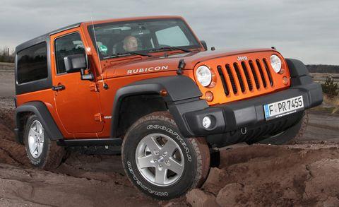 Jep-wrangler in Wer hätte das gedacht: Jeep mit starkem Plus