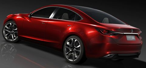 Mazda-takeri-5 in Mazda Takeri: Concept Car für die Tokio Show