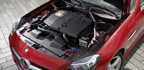 Mercedes-slk-250-cdi-a in Diesel-Generationen: Mercedes C 111 trifft SLK 250 CDI