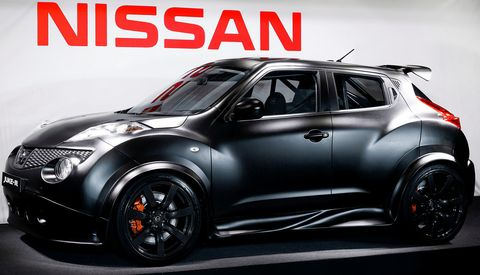 Nissan-juke-r in Nissan zeigt den Juke-R