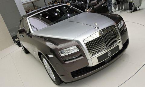 Rolls-royce-ghost in Rolls-Royce greift Südamerika an