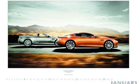 Aston-Martin-Kalender-Rene-Staud-2012-2 in Aston Martin: Kalender für 2012 von René Staud