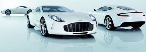 Aston-Martin-One-77 in