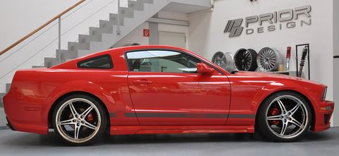 Ford-Mustang-von-Prior-Design-3 in Gestyltes Pony: Ford Mustang von Prior Design