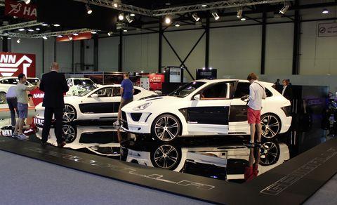 Gemballa-auf-der-Dubai-International-Motor-Show-2011-2 in Gemballa: Mistrale und Tornado fegen durch Dubai