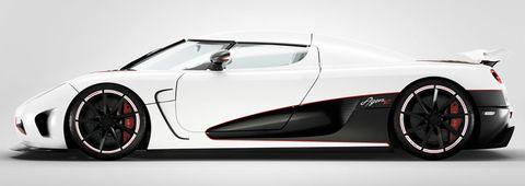 Koenigsegg-Agera-R in Den Agera R bändigen