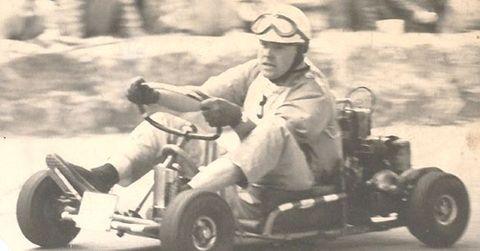 Martin-Ripp-beim-Kartfahren in 20. St. Goarer Tafelrunde ehrt Graf Berghe von Trips