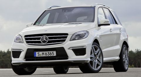 Mercedes-Benz-ML-63-AMG-1 in Neues Power-SUV: Mercedes ML 63 AMG