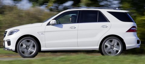 Mercedes-Benz-ML-63-AMG-2 in Neues Power-SUV: Mercedes ML 63 AMG