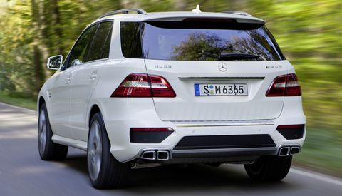 Mercedes-Benz-ML-63-AMG-4 in Neues Power-SUV: Mercedes ML 63 AMG