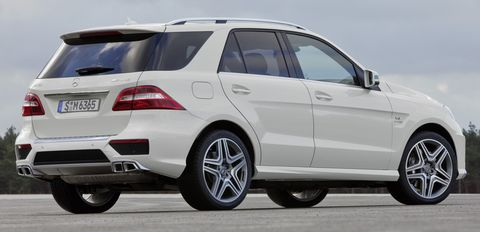 Mercedes-Benz-ML-63-AMG-7 in Neues Power-SUV: Mercedes ML 63 AMG