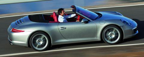 Porsche-911-Carrera-Cabriolet in Porsche 911: Cabriolet kommt im Frühling 2012