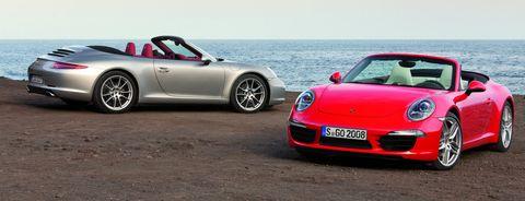 Porsche-911-Carrera-S-Cabriolet-und-Carrera-Cabriolet in Porsche 911: Cabriolet kommt im Frühling 2012