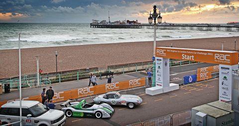 RAC-Future-Car-Challenge in Elektroauto: Windreich E feiert Erfolg bei der Future Car Challenge