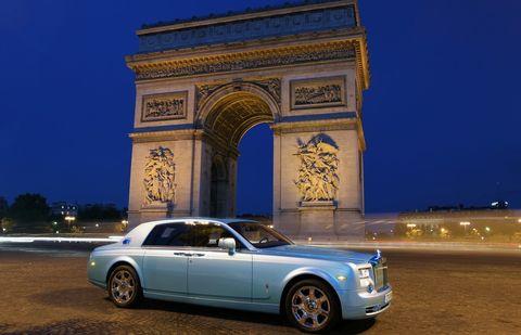 Rolls-Royce-102EX-in-Paris in Der Rolls-Royce 102EX erreicht sein Ziel
