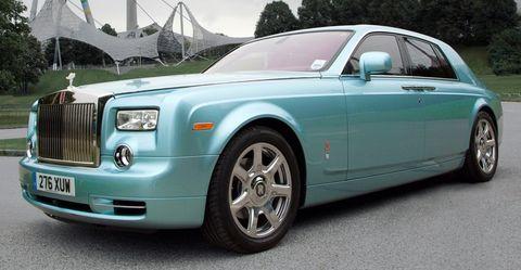 Rolls-Royce-102EX in Der Rolls-Royce 102EX erreicht sein Ziel