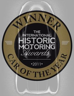 Historic-motoring-awards-2011 in Porsche Typ 64 Berlin-Rom-Wagen sahnt internationalen Preis ab