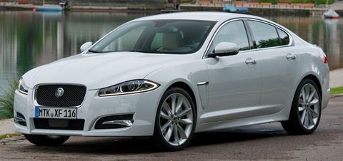 Jaguar-xf-2012 in Jaguar XF: Knausernd durch die USA