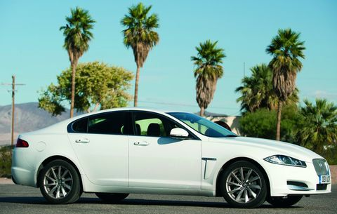 Jaguar-xf-diesel-usa in Jaguar XF: Knausernd durch die USA