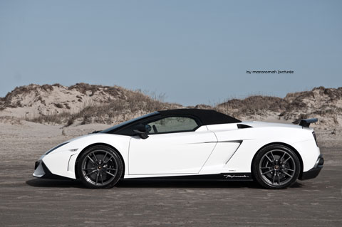 Vintage-trophy-sylt-1809-Be in Impressionen: Lamborghini Gallardo LP 570-4 Spyder Performante