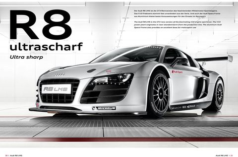 Auto Racing Sports on Audi Sport Customer Racing 2009 2010 2011 1 In