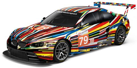 BMW-M3-GT2-Art-Car-von-Jeff-Koons in