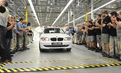 Der-einmillionste-BMW-aus-dem-Werk-Leipzig-rollt-vom-Band in BMW 116d in Leipzig als Mega-Jubilar