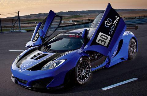 McLaren-bei-den-ADAC-GT-Masters in ADAC GT Masters 2012: Luxusmarken in der Liga der Supersportwagen