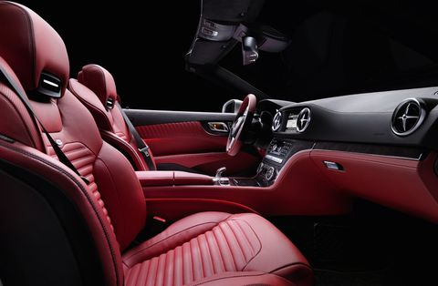 Mercedes-Benz-SL-Interieur in
