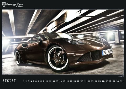 PRESTIGE-CARS-Kalender-2012-Artega-GT in The PRESTIGE CARS Calendar 2012: A selection of our finest photographs
