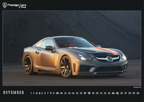 PRESTIGE-CARS-Kalender-2012-Carlsson-C25 in The PRESTIGE CARS Calendar 2012: A selection of our finest photographs