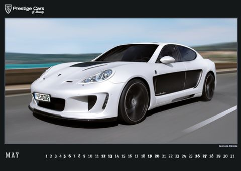 PRESTIGE-CARS-Kalender-2012-Gemballa-Mistrale in The PRESTIGE CARS Calendar 2012: A selection of our finest photographs