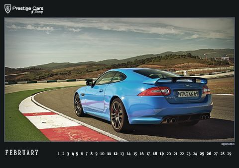 PRESTIGE-CARS-Kalender-2012-Jaguar-XKR-S in The PRESTIGE CARS Calendar 2012: A selection of our finest photographs