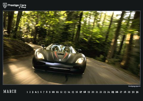 PRESTIGE-CARS-Kalender-2012-Koenigsegg-Agera-R in The PRESTIGE CARS Calendar 2012: A selection of our finest photographs
