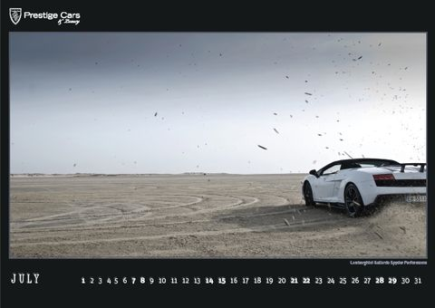 PRESTIGE-CARS-Kalender-2012-Lamborghini-Gallardo-Spyder-Performante in The PRESTIGE CARS Calendar 2012: A selection of our finest photographs
