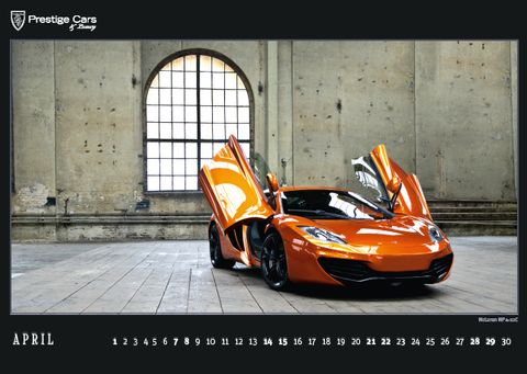 PRESTIGE-CARS-Kalender-2012-McLaren-MP4-12C in The PRESTIGE CARS Calendar 2012: A selection of our finest photographs