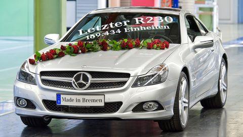 Letzter-mercedes-r230 in Letzter Mercedes-Benz SL (R 230) lief vom Band