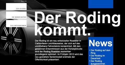 Roding-automobile-de in Roding Roadster 23 kommt mit Turbo von BMW